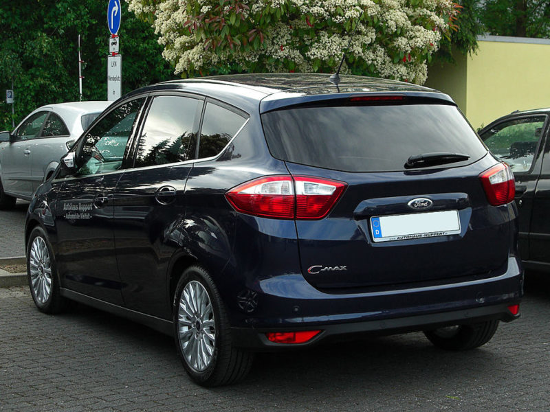 ford c-max i (1) 1.6 tdci 90ch nordic blue