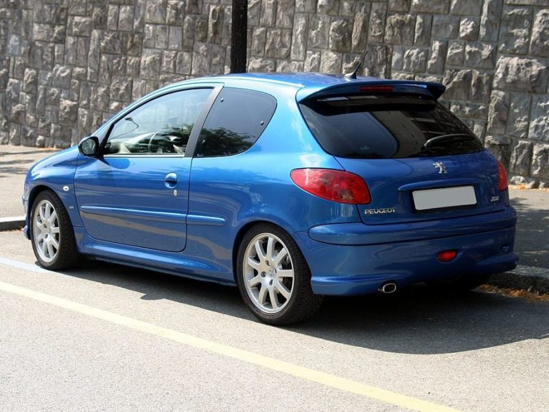 peugeot 206 i (2) evo 1.4 hdi70 pop art 3p