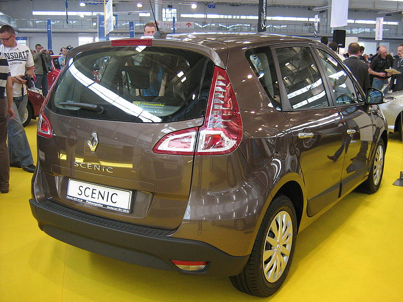 renault scenic ii (j84) (1) 1.5 dci 80ch authentique
