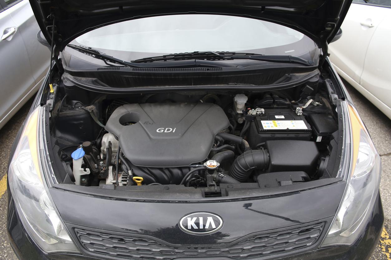 moteur voiture kia